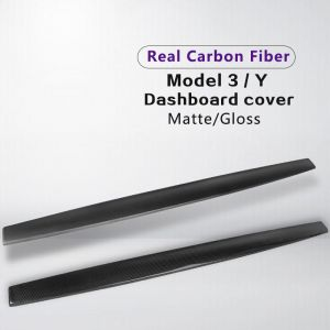 Real Carbon Fiber Dashboard Cover for Model 3/Y