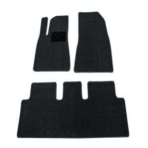 Model 3 Flannel  Foot Mat with pedal